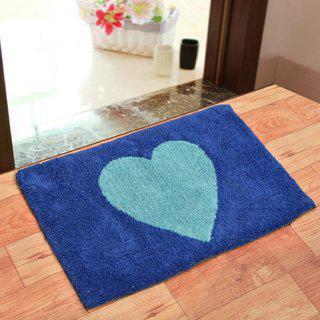 Shakrin Single 50x80 Bath Mat Blue