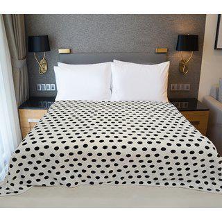 Welhouse India Polka Printed Single Bed Ac Blanket