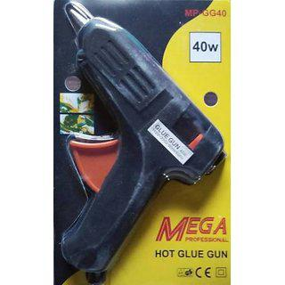 Mega Hot Professional Glue Gun 40 Watt With 2 Small Glue Sticks Free