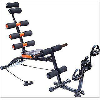 Ibs 22 In 1 Six Packs Wonder Core Zone Flex Care Home Fitness Pump Gym Six Pack Cruncher Pack Body Buiilder With Cycle