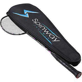 Spinway Badminton Extreme Woven M2 Racket Hot Melt plus Woven Greater Strength And Stability (with Cover Bag )