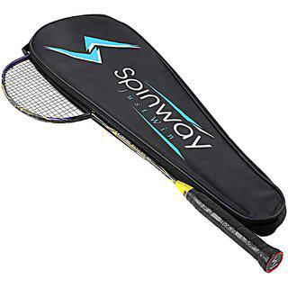 Spinway Badminton Extreme Kevlar M1 Racket Hot Melt plus Kevlar With Cover Bag
