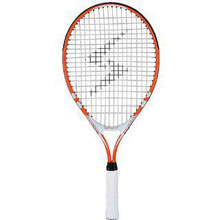 Spinway Mini Tennis Thunder Racket For Kids Age 6 To 8 Yr Lightweight With Cover Bag