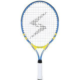 Spinway Mini Tennis Lightening Racket For Ages 4 To 6 Yr Size 21 Incheswith Cover Bag