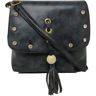 Rish Fancy Sling Bag - Black