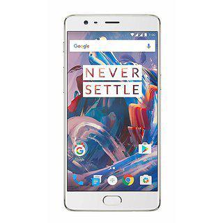 Oneplus 3 (soft Gold 64 Gb)(refurbished)(1 Year Warranty Bazaar Warranty)