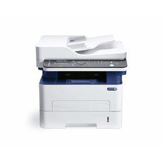 Xerox Workcentre 3225/dni Monochrome Multifunction Printer (white And Blue)