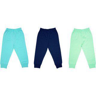 Yorker Multi-coloured Pajami/lower/leggings For Kids Boys & Girls Combo (pack Of-3)