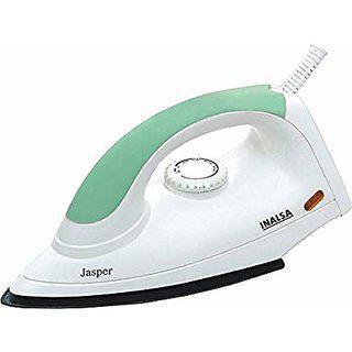 Inalsa Jasper Dry Iron (white And Green)
