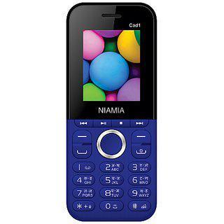 Niamia Cad 1 Blue Basic Keypad Feature Mobile Phone