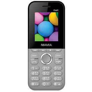 Niamia Cad 1 Grey Basic Keypad Feature Mobile Phone