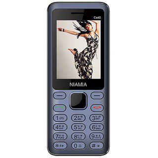 Niamia Cad 2 Blue Basic Keypad Feature Mobile Phone