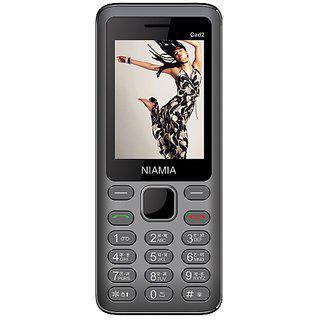 Niamia Cad 2 Grey Basic Keypad Feature Mobile Phone