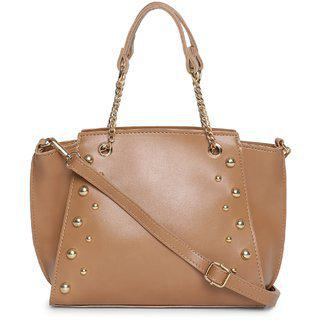 Kielz-camel-brown-synthetic-women-sling-bag