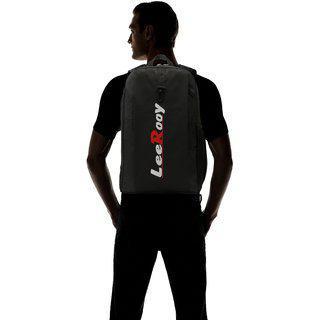 Leerooy 22 Ltr Black College Bag Backpack For Women
