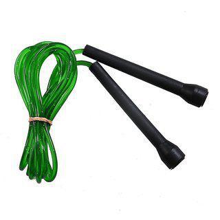 Port Black Blue Pvc Fitness Freak Skipping Rope