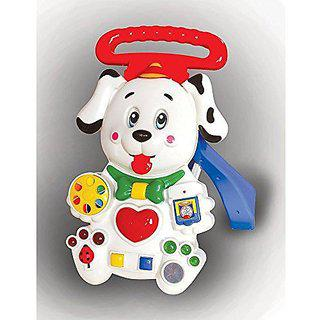 Toyzone Edu Dalmatian Puppy Walker Red