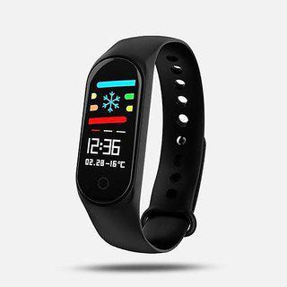 Uimi M3 Black Smart Band / Smart Bracelet With Blood Pressure Heart Rate Monitoring Water Proof Feature