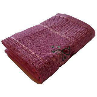Pyaro Hifi Cotton Bath Towel (voilet)