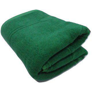 Pyaro Cotton Floral Bath Towel - Special Green