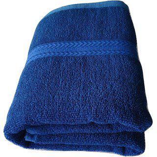 Pyaro Chakra Cotton Bath Towel - Blue