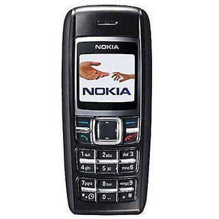 Refurbished Nokia 1600 Black With ( 1 Year Warranty By Warranty Plaza )