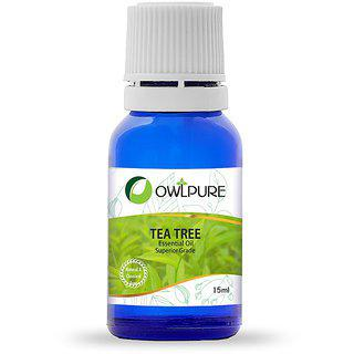 Owlpure Natural Tea Tree Essential Oil(15ml)