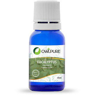 Owlpure Natural Eucalyptus Essential Oil(15ml)