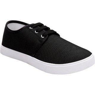 Bersache Boys Slip on Loafers(Black)