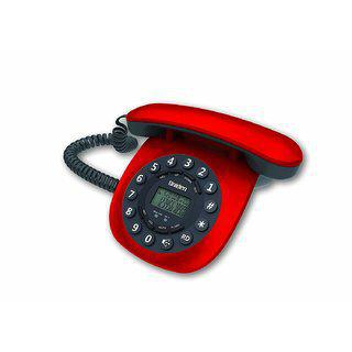 Uniden At8601 Red Corded Landline Phone With Speakerphone Caller Id