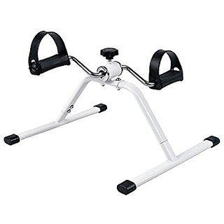 Foldable Mini Pedal Exercise Cycle With Adjustable Resistance