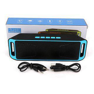 Mini Portable A2dp Bluetooth Speaker Wireless Megabass Stereo Car Handsfree Call Subwoofer Tf Usb Fm Radio Music Mp3 Player