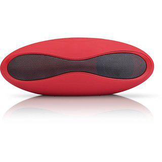 Sba Entice Mini Rugby Bluetooth Speaker Wireless Stereo Subwoofer Portable Speakers Hands Free Tf Card U Disk Mp3 Player Loudspeaker Box Red