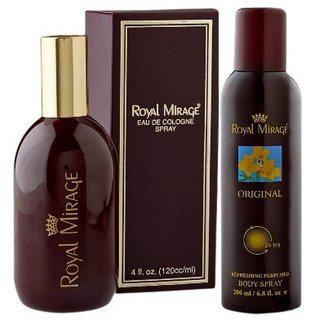 Royal Mirage Combo Of (deodorant And Pefume)