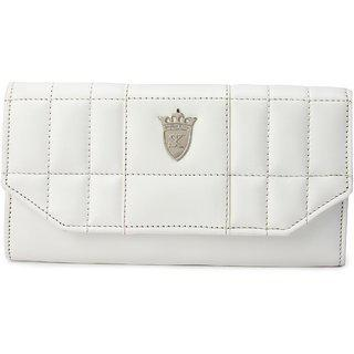 Styler King Women's Casual White Clutch