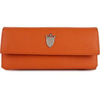 Styler King Orange Women Clutch
