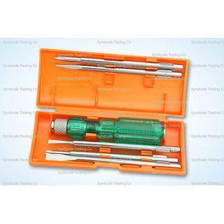 Taparia Screw Driver Sets With Neon Bulbs 802