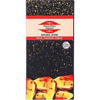 Rackdack Royal Diamond Amber 10ml Roll On Attar