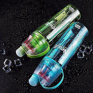 Mobone Water Mist Plastic Spray Water Bottle 600 Ml Bottle (pack Of 1 Multicolor)