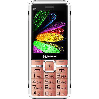 Mu Phone M7 Rose Gold Dual Camera 2.8 Inch Screen Power Saving Mode