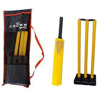 Vk Crown Plastic Cricket Kit