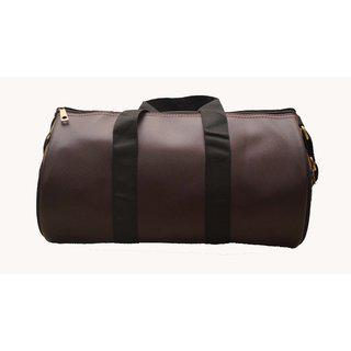 TREKKERS NEED Travel Duffle and Gym Bag in Brown Color