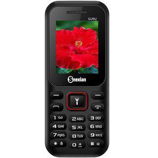 Snexian Guru 314 Dual Sim Mobile With 1.8 Inch Screen/1000 Mah Battery/ Camera/fm/auto Call Recorder