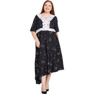 Oxolloxo Town Chic Dawn Assymetric Hem Dress