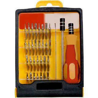 2 Pieces Mini 31-in-1 Toolkit Magnetic Screwdriver Set -10 A