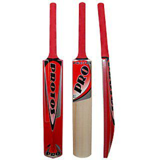 Protos Kashmir Willow Cricket Bat Full Size Pro Painted Model..!!