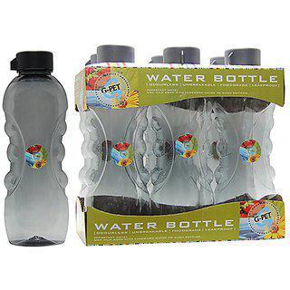 Gpet Fridge Water Bottle Daisy 1 Ltr Grey Set Of 6