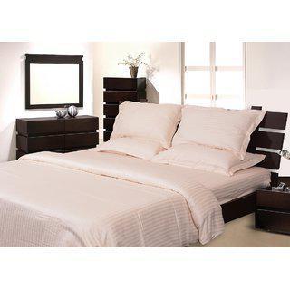 Mark Home White Color Duvet Cover