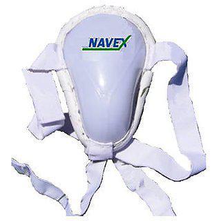Navex Cricket Abdominal Guard Medium With Double Elastic 2 Pcs.