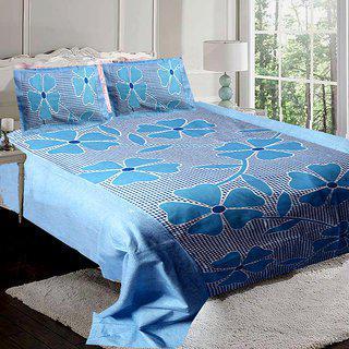 Little Joy Beautyfull Floral Bedsheet With 2 Pillow Cover